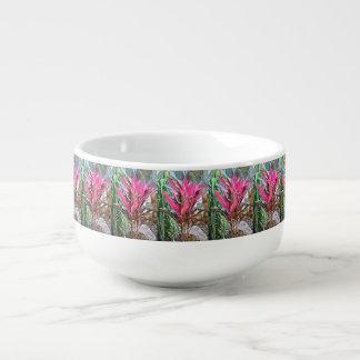 Pink House Plant Soup Mug