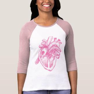 Pink Human Heart Shirts