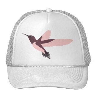 Pink Hummingbird Trucker Hats