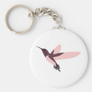 Pink Hummingbird Key Chain