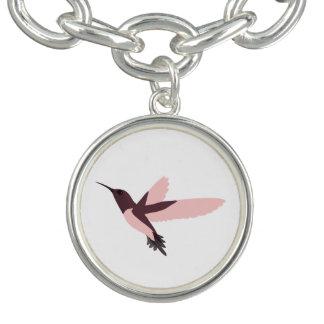 Pink Hummingbird Bracelet