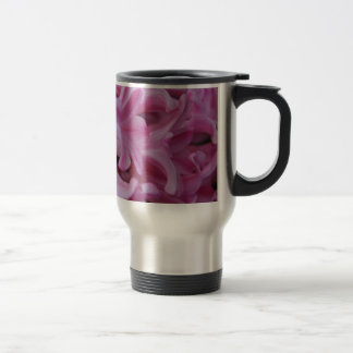 Pink Hyacinth Travel Mug