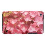 Pink hydrangea barely there iPod cover