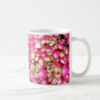 Pink Hydrangea Bouquet Coffee Mug