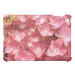 Pink hydrangea case for the iPad mini