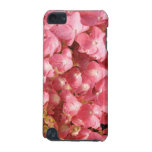 Pink hydrangea iPod touch (5th generation) cases