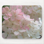 Pink Hydrangea Mouse Pads
