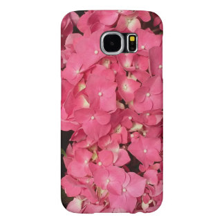 Pink Hydrangea Photo Samsung Galaxy S6 Cases