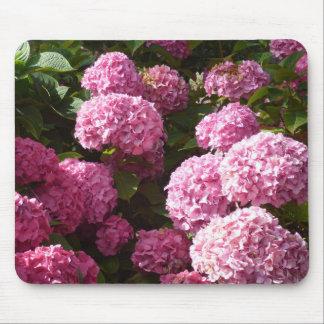 Pink Hydrangeas Mouse Mat