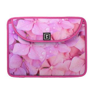 Pink Hydrangeas Sleeve For MacBook Pro
