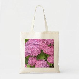 Pink Hydrangeas Tote Bag