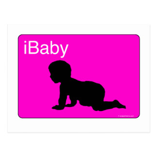 pink iBaby Post Cards