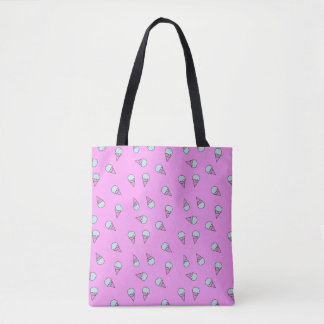 Pink Ice Cream Tote Bag