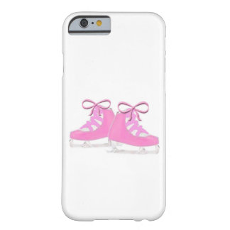 Pink Ice Skates Barely There iPhone 6 Case