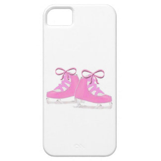 Pink Ice Skates iPhone 5 Cases
