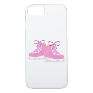 Pink Ice Skates iPhone 7 Case
