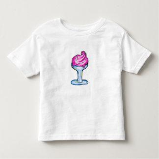 Pink IceCream T-shirt design, Food, drawing