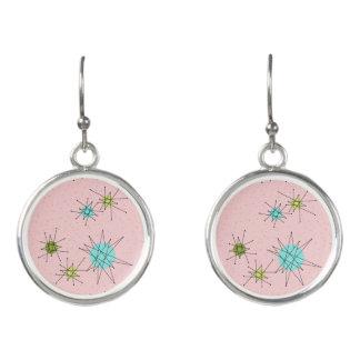 Pink Iconic Atomic Starbursts Earrings