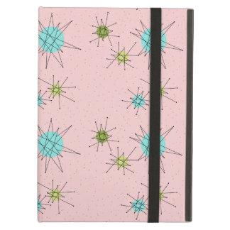 Pink Iconic Atomic Starbursts iPad Case