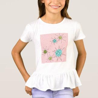 Pink Iconic Atomic Starbursts T-Shirt