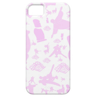 Pink images of South America iPhone 5 Cover