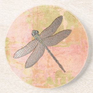 Pink Impressions Dragonfly Coaster