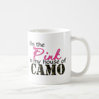 Pink In My House Of Camo Mugs