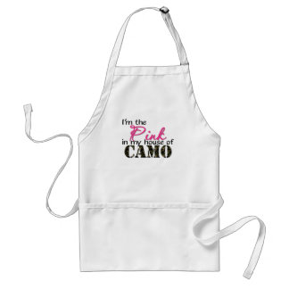 Pink In My House Of Camo Standard Apron