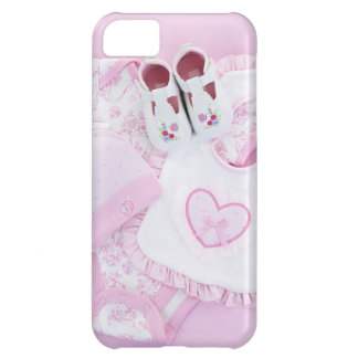 Pink infant clothes for baby shower iPhone 5C cases