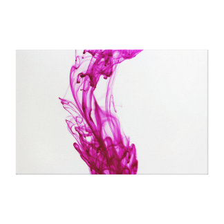Pink Ink Drop Photography 20x16 Canvas Canvas Prints