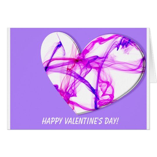 Pink Ink Heart Card