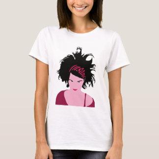 Pink Insane Girl T-Shirt