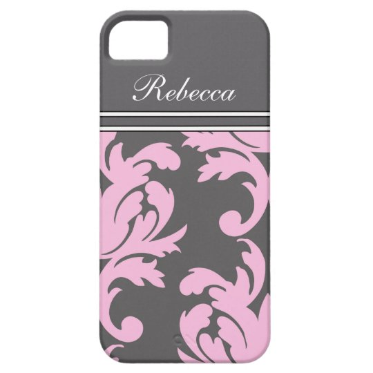 Pink iPhone 5 Monogram Cases