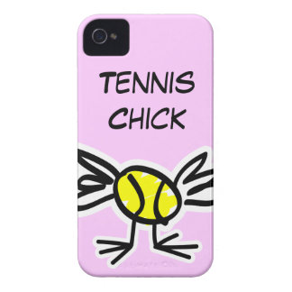 Pink iPhone case with tennis design iPhone 4 Case