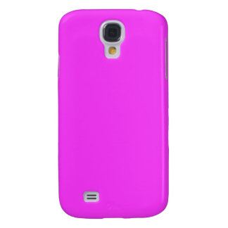Pink iPhone Cases (Shocking Pink) Galaxy S4 Case