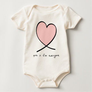 Pink Is For Everyone Baby Bodysuit