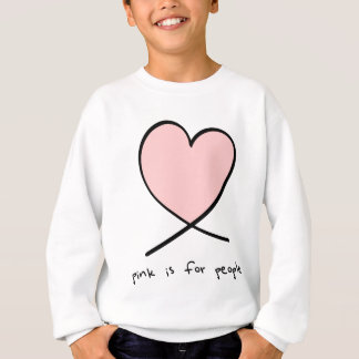 Pink Is For People Sweatshirt