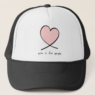 Pink Is For People Trucker Hat