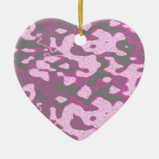 pink is not a color its an attitude ceramic heart decoration