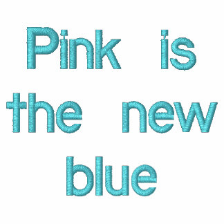 Pink is the new blue