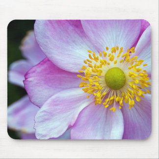 "Pink ""Japanese Anemone"" Mouse Mat"