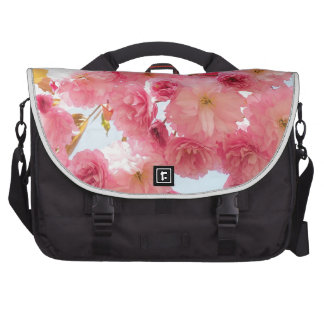 Pink Japanese Cherry Blossom Photograph Commuter Bag