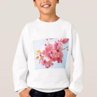 Pink Japanese Cherry Blossom Photograph Sweatshirt