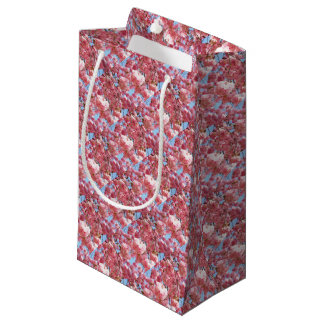 Pink Japanese Cherry Blossom Small Gift Bag