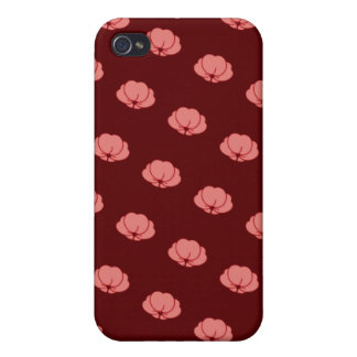 Pink Japanese Chrysanthemum Flowers iPhone 4 Case