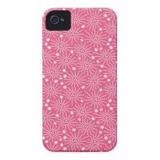 Pink Japanese Firework Pattern iPhone 4/4S Case