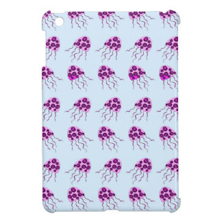 Pink jellyfish case for the iPad mini