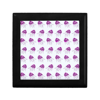 Pink jellyfish gift box
