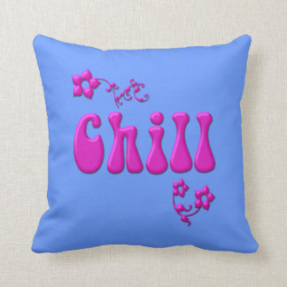 Pink Just Chillin American MoJo Pillow