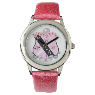 Pink KAL Crest Watch